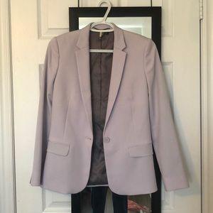 topshop lilac blazer